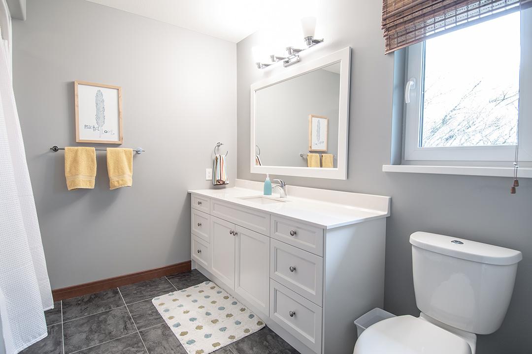 Country home bathroom