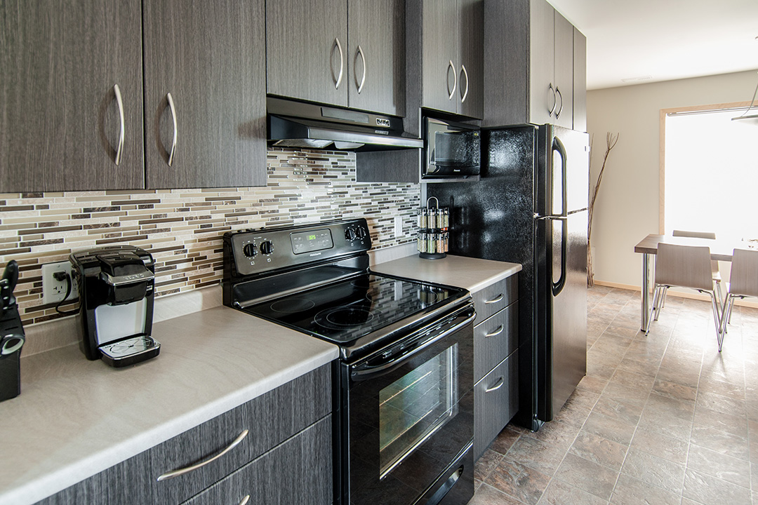 Granite Park Condominiums kitchen