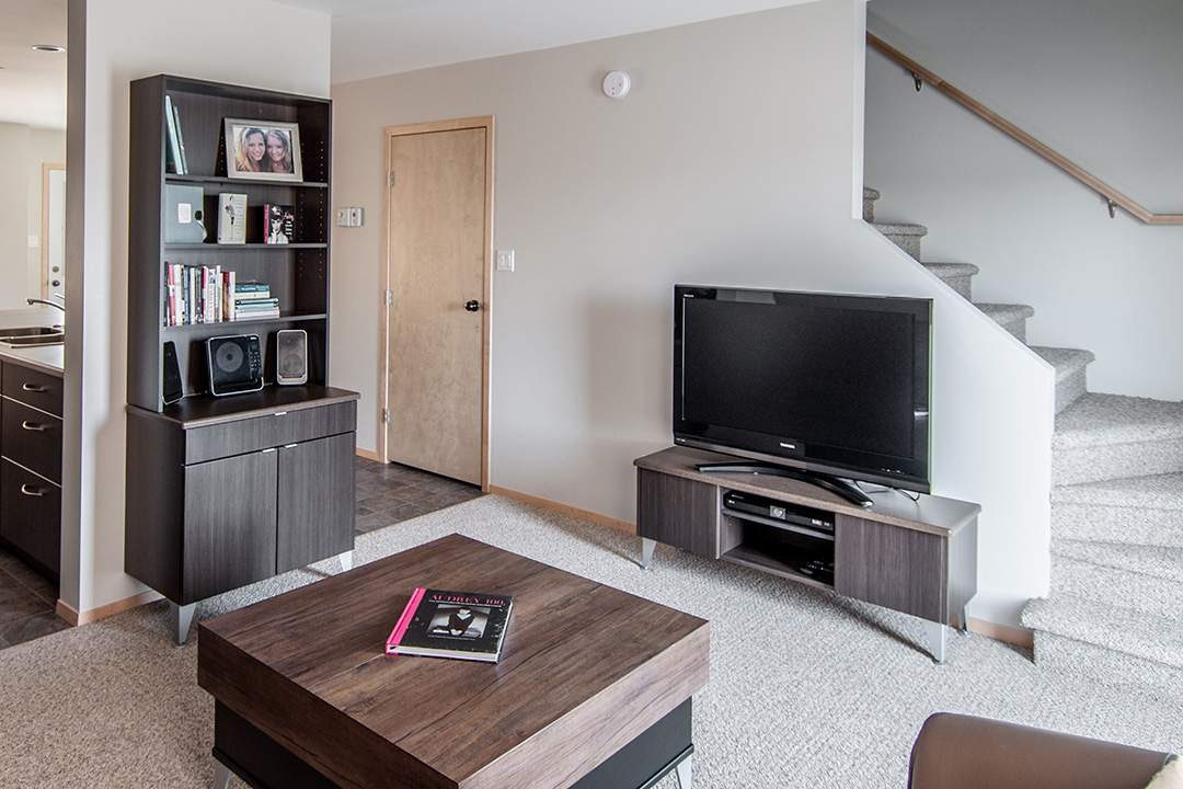 Granite Park Condominiums living area