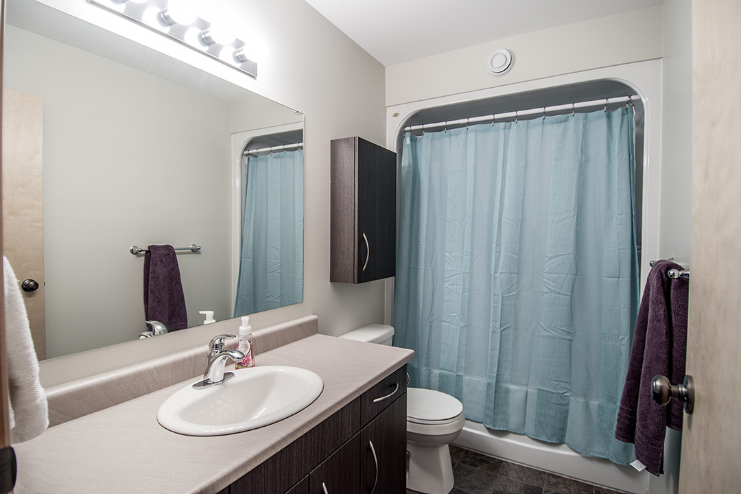 Granite Park Condominiums bathroom