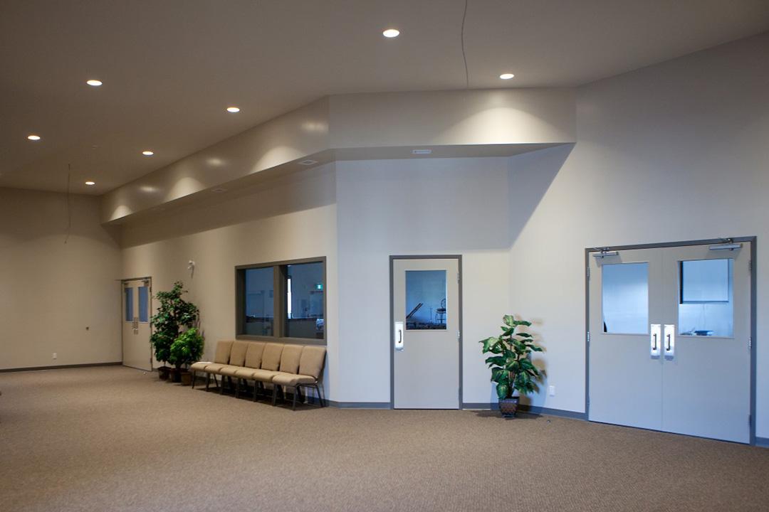 Christian Faith Church foyer