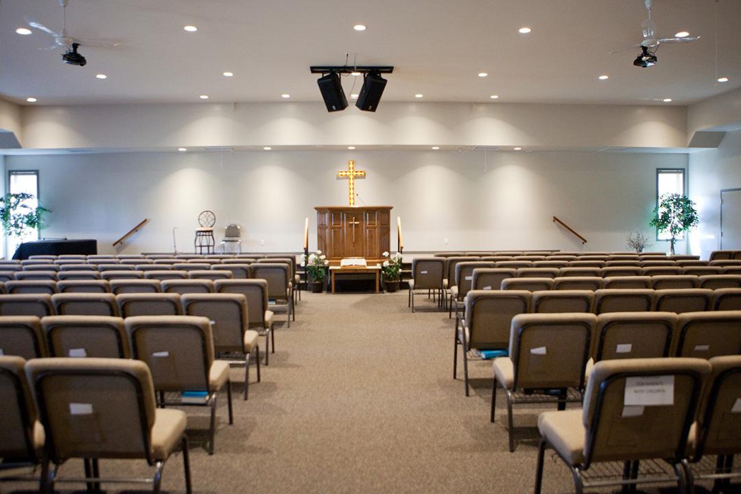 Christian Faith Church sanctuary