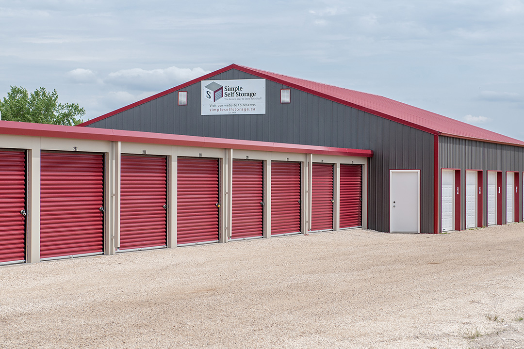 Simple Self Storage exterior